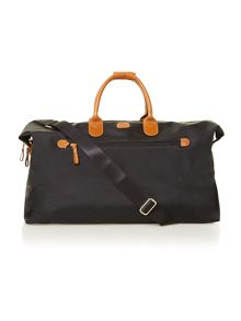 X Travel black medium holdall