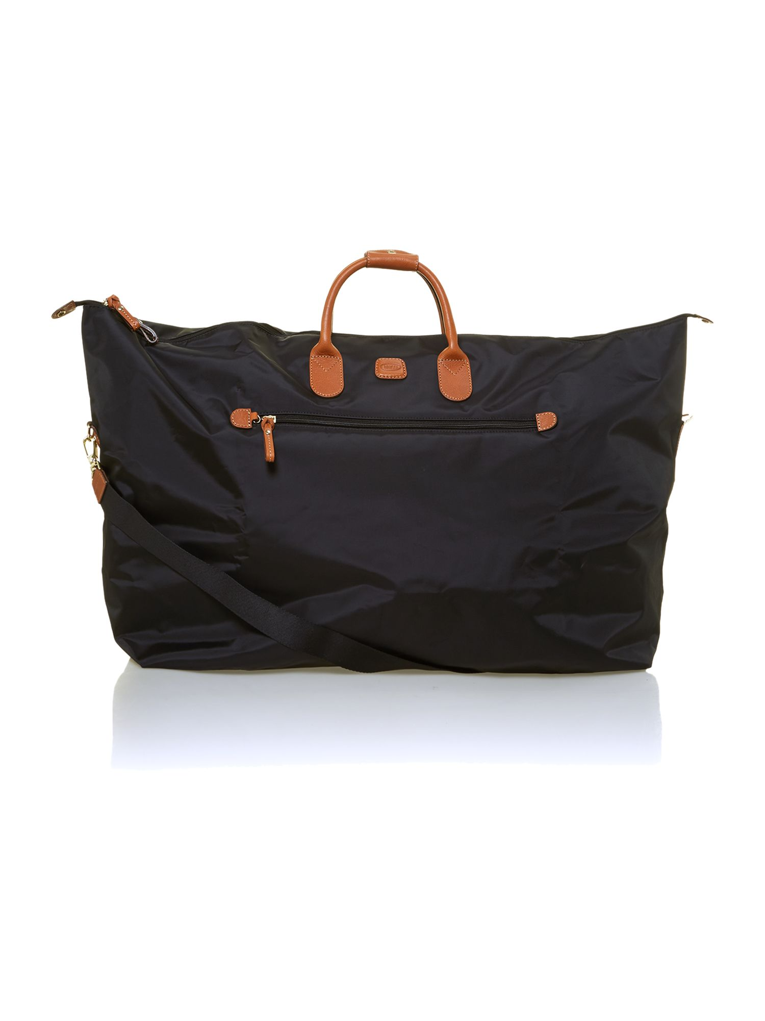 X Travel black large holdall