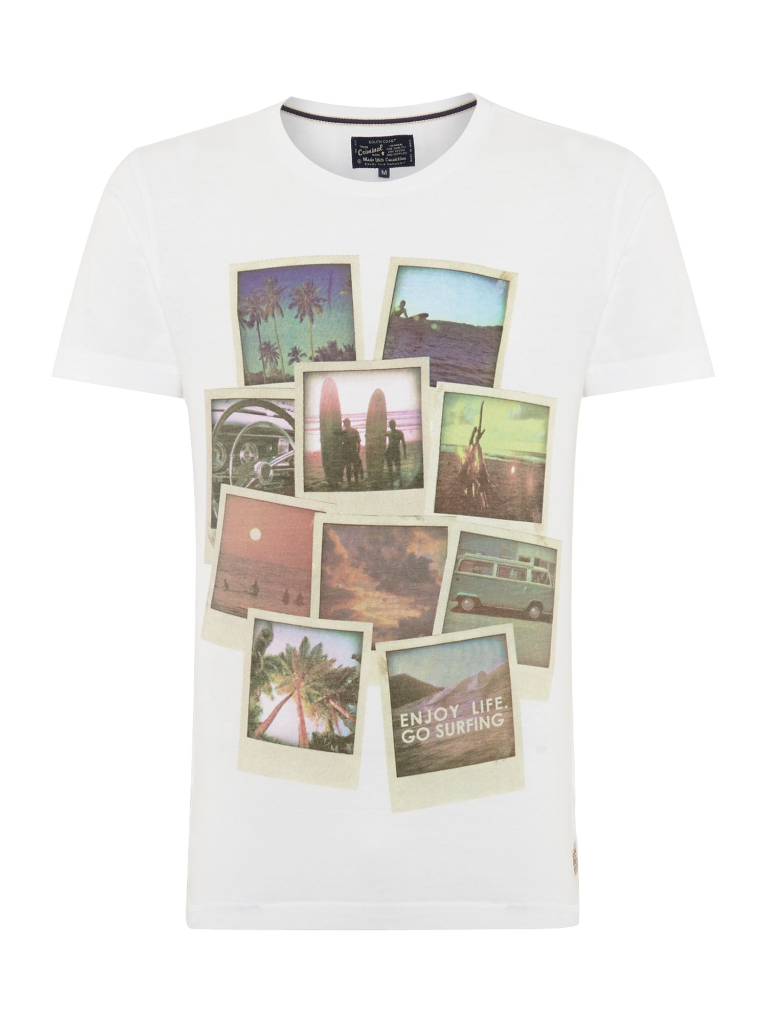photos graphic tee
