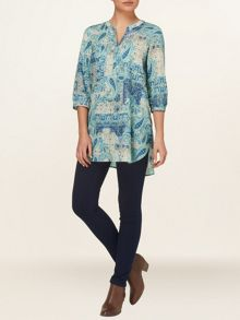 Calia paisley tunic