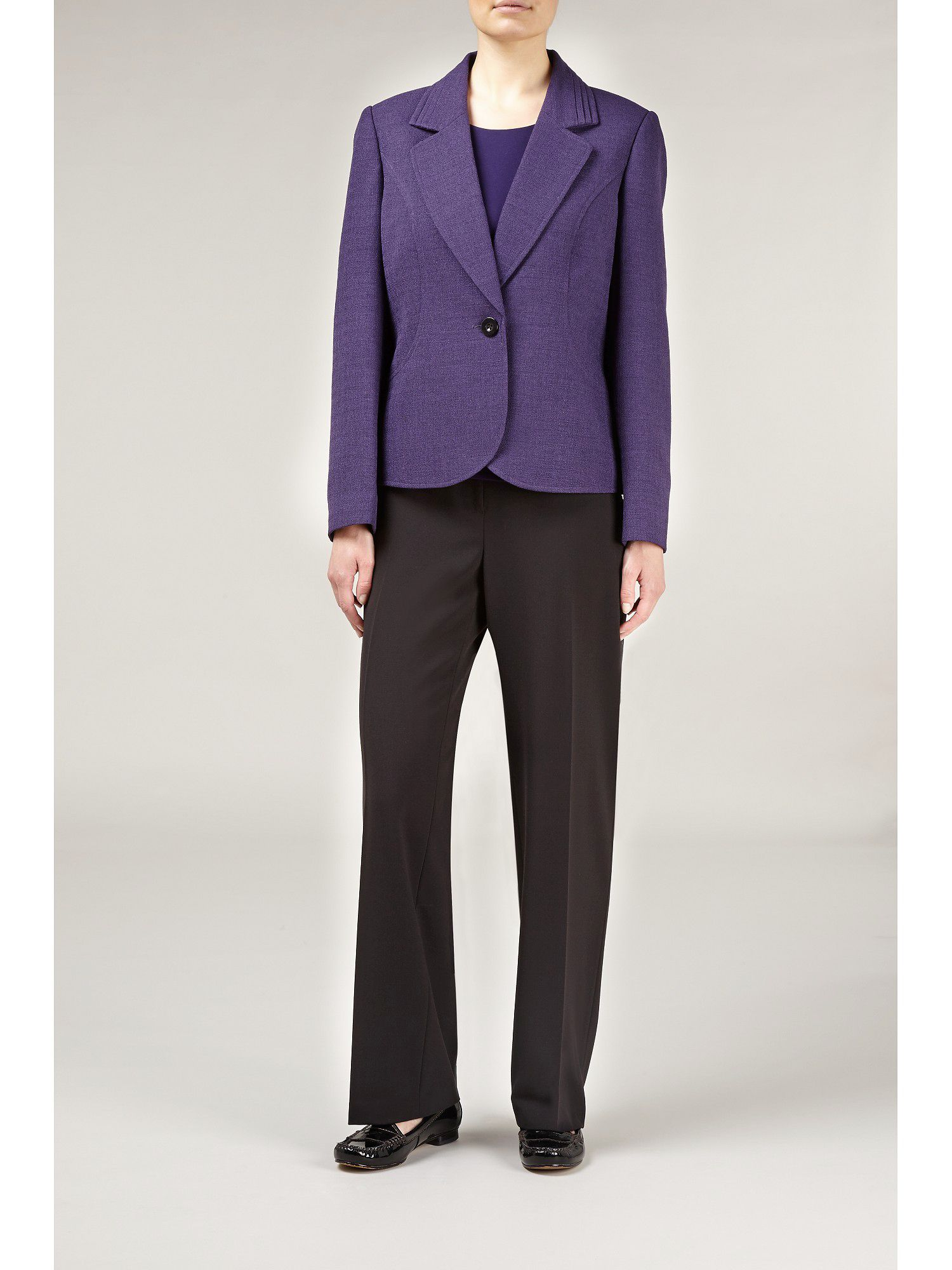 Damson tailored jacket