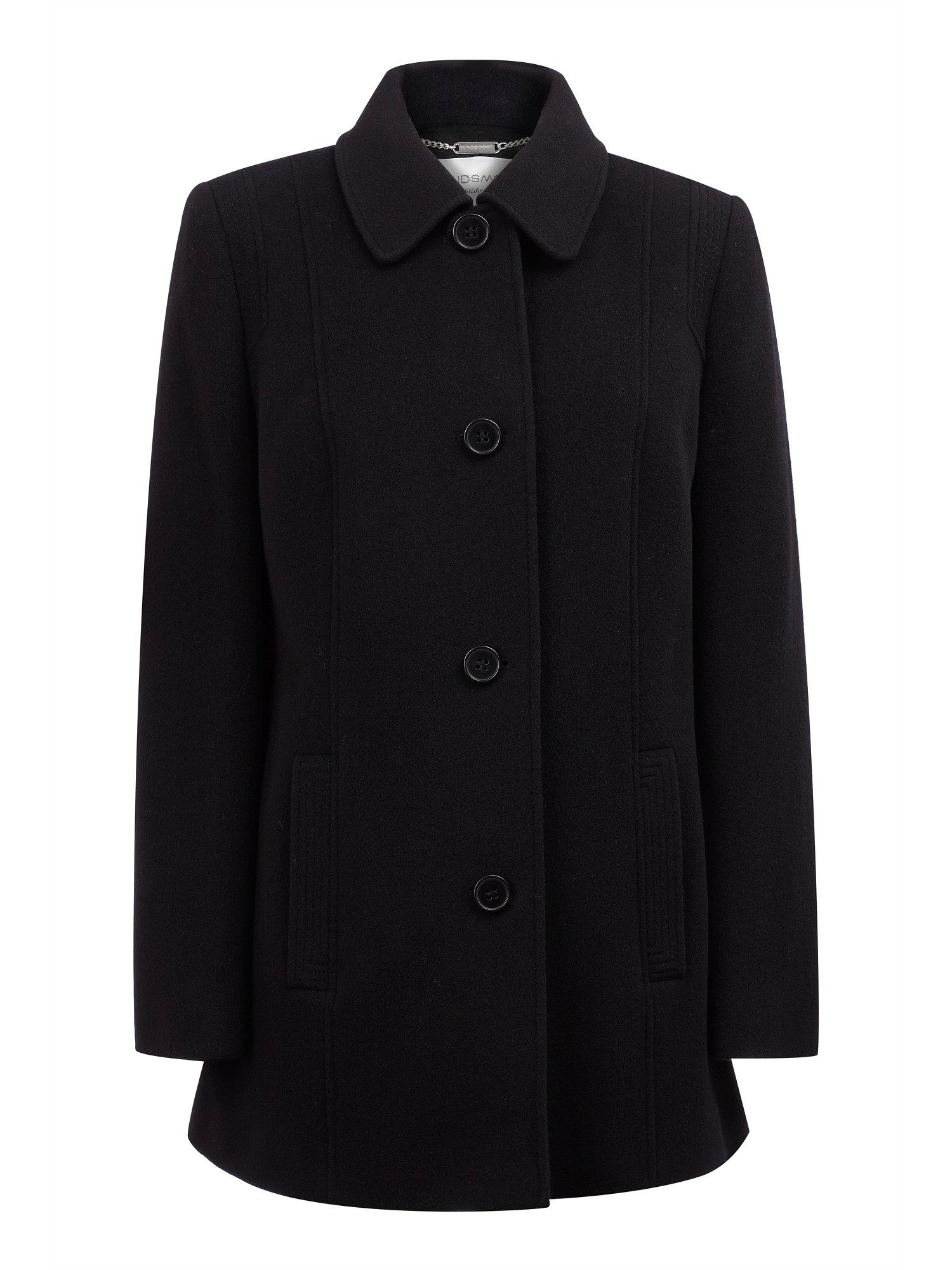 Black breasted coat