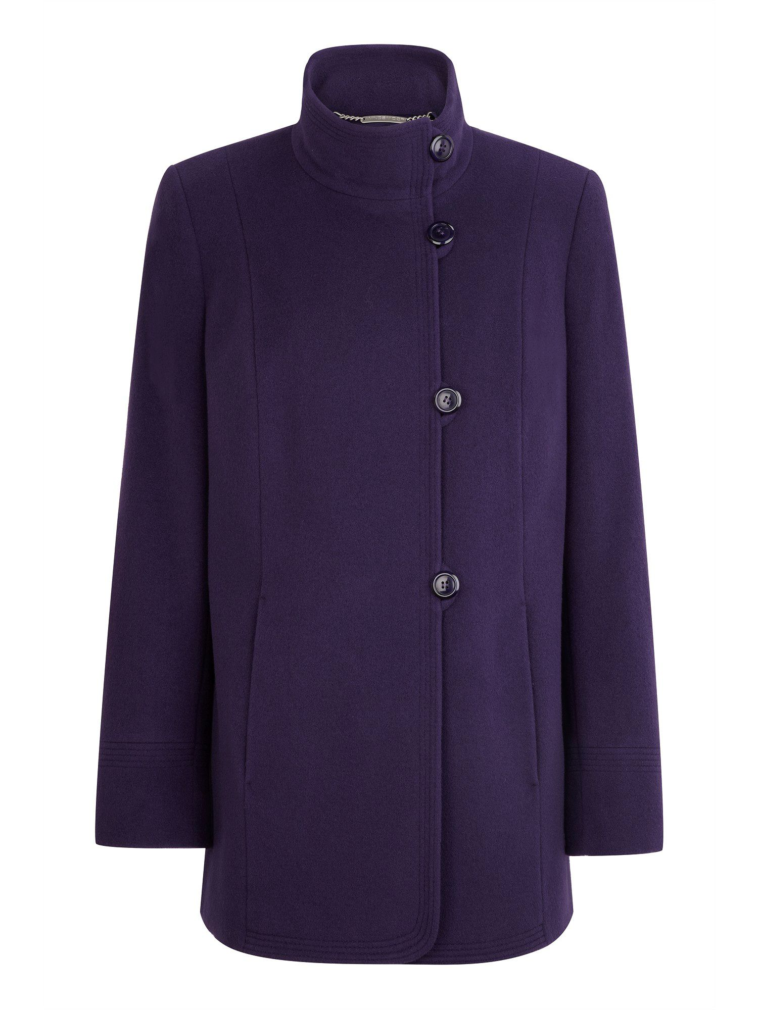 Short damson coat