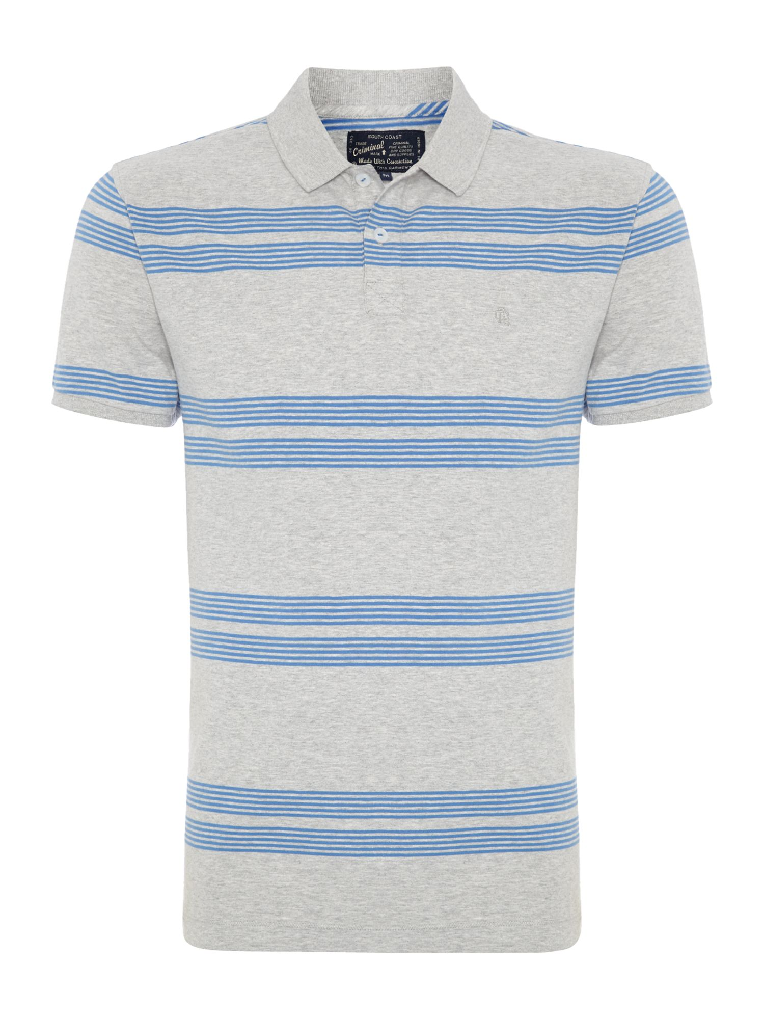 johnson stripe polo