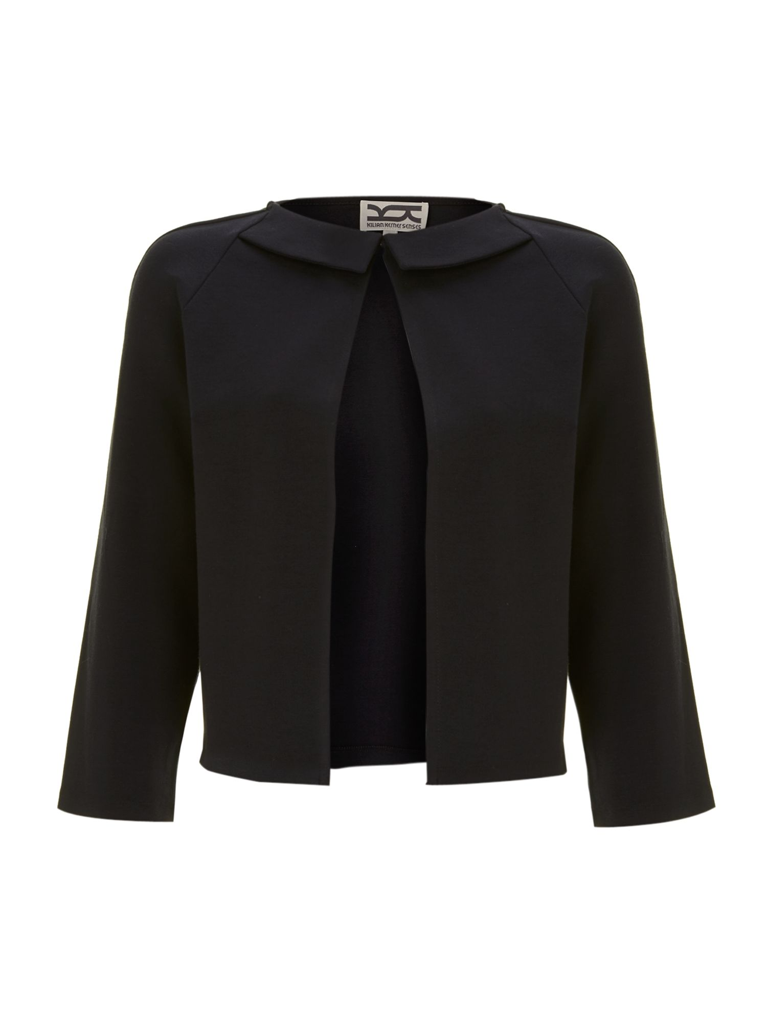 AJ cropped high neck jacket