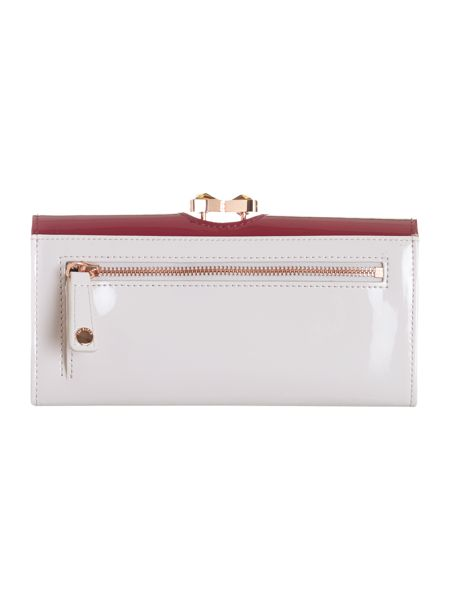 Ted Baker Red bow crystal top purse