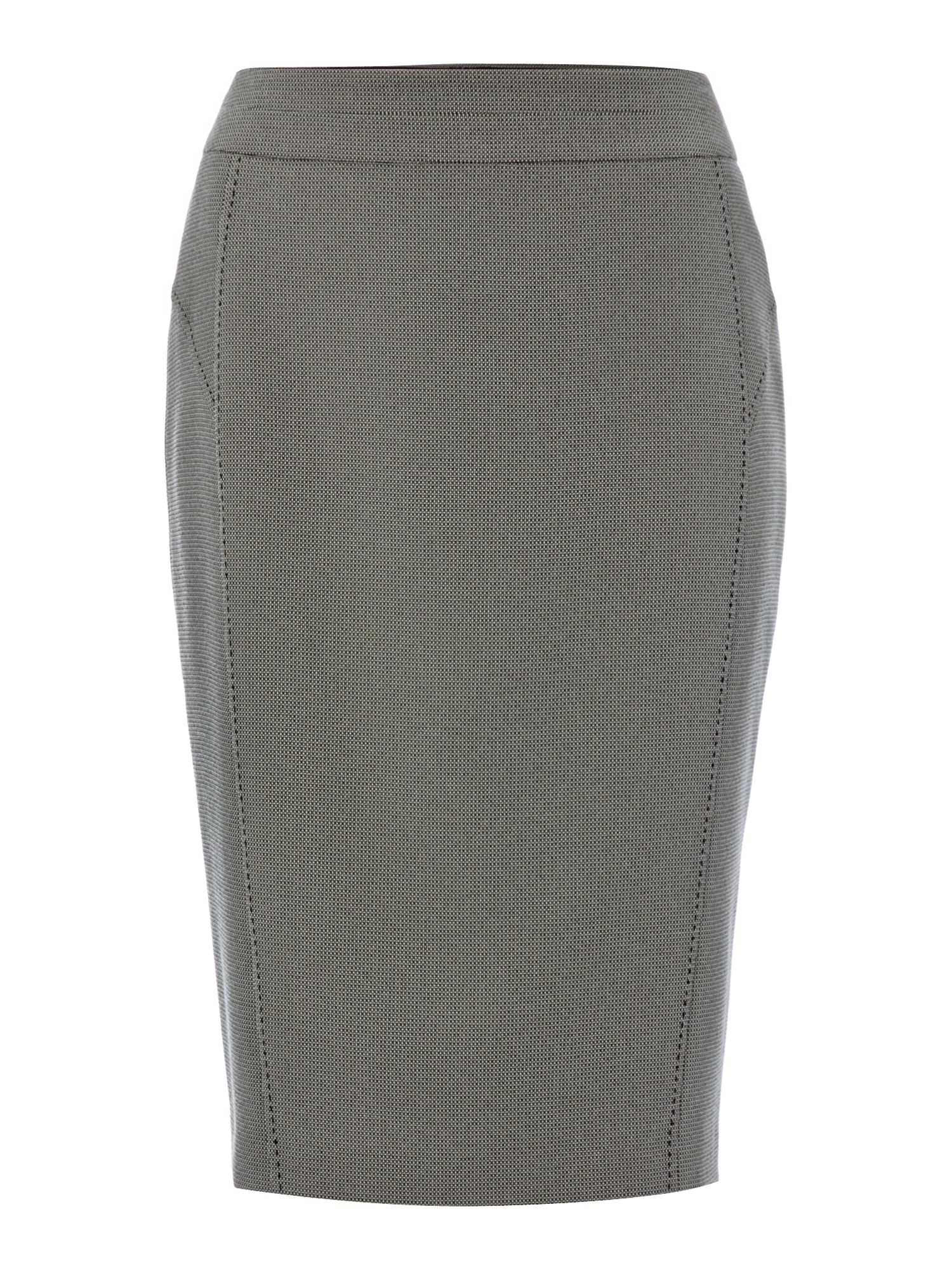 Lottie spot tailored skirt
