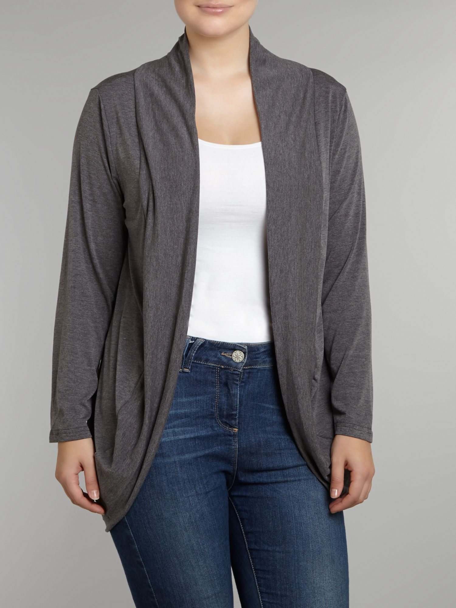 Dip hem cover up cardigan
