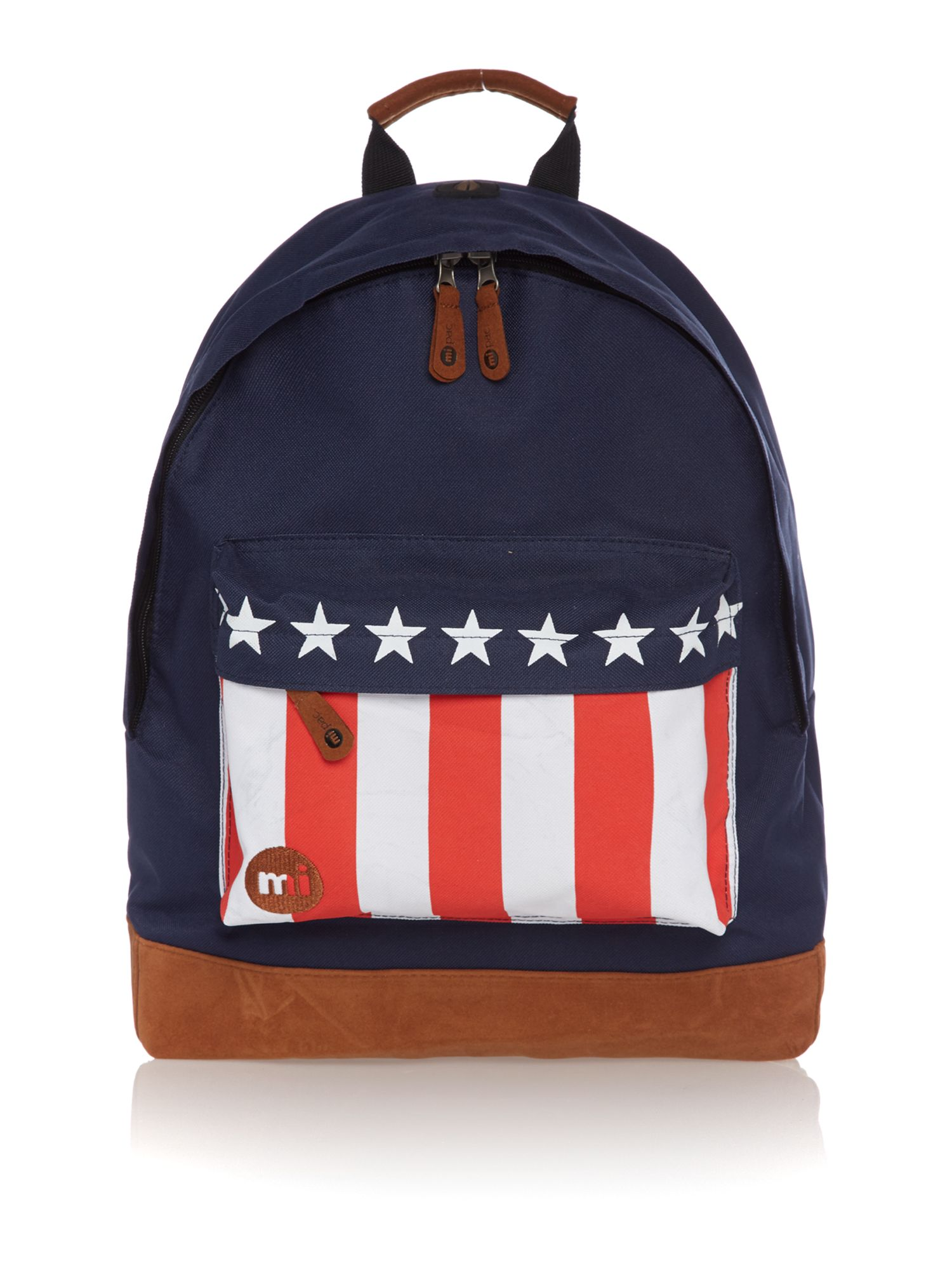 USA flag backpack