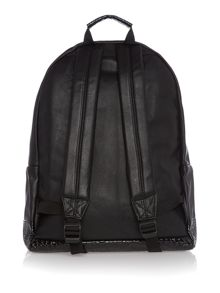 Mi Pac Premium faux croc leather backpack