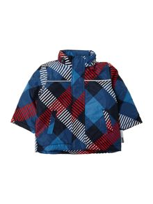 Boy`s check jacket