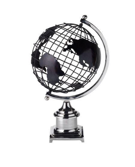 Linea Oversized globe ornament