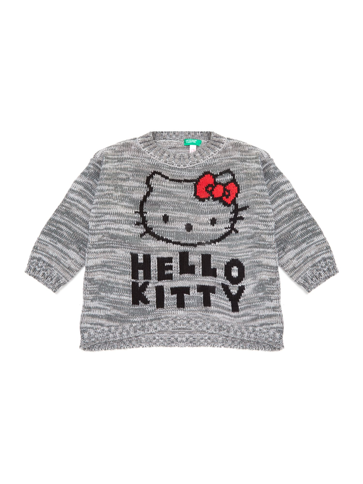 Girl`s Hello Kitty knit