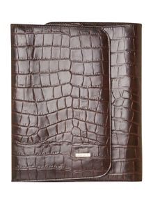 Hugo Boss Croc print ipad case