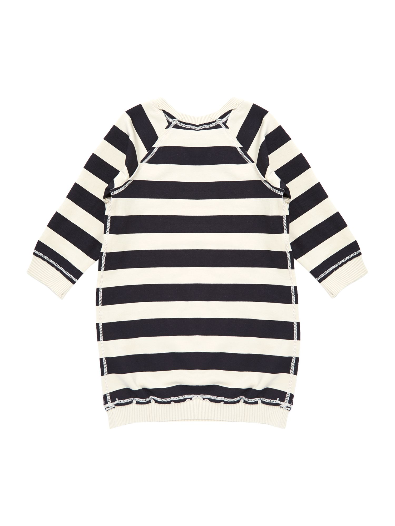 Girl`s stripe tunic dress