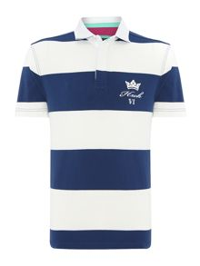 california stripe rugby shirt