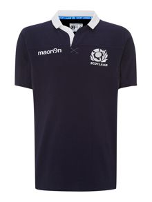Short sleeve rugby shirt