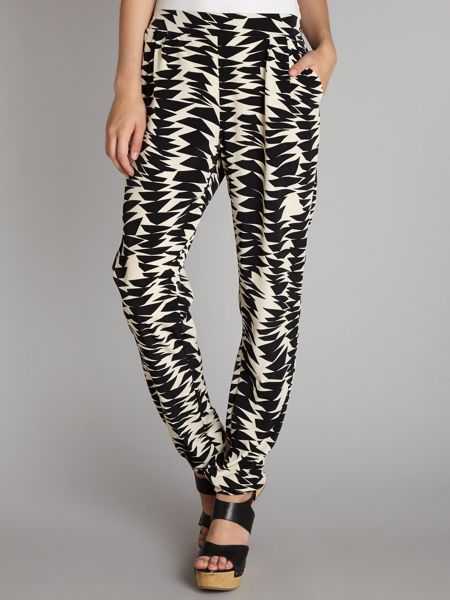 John Zack Printed tailored joggers