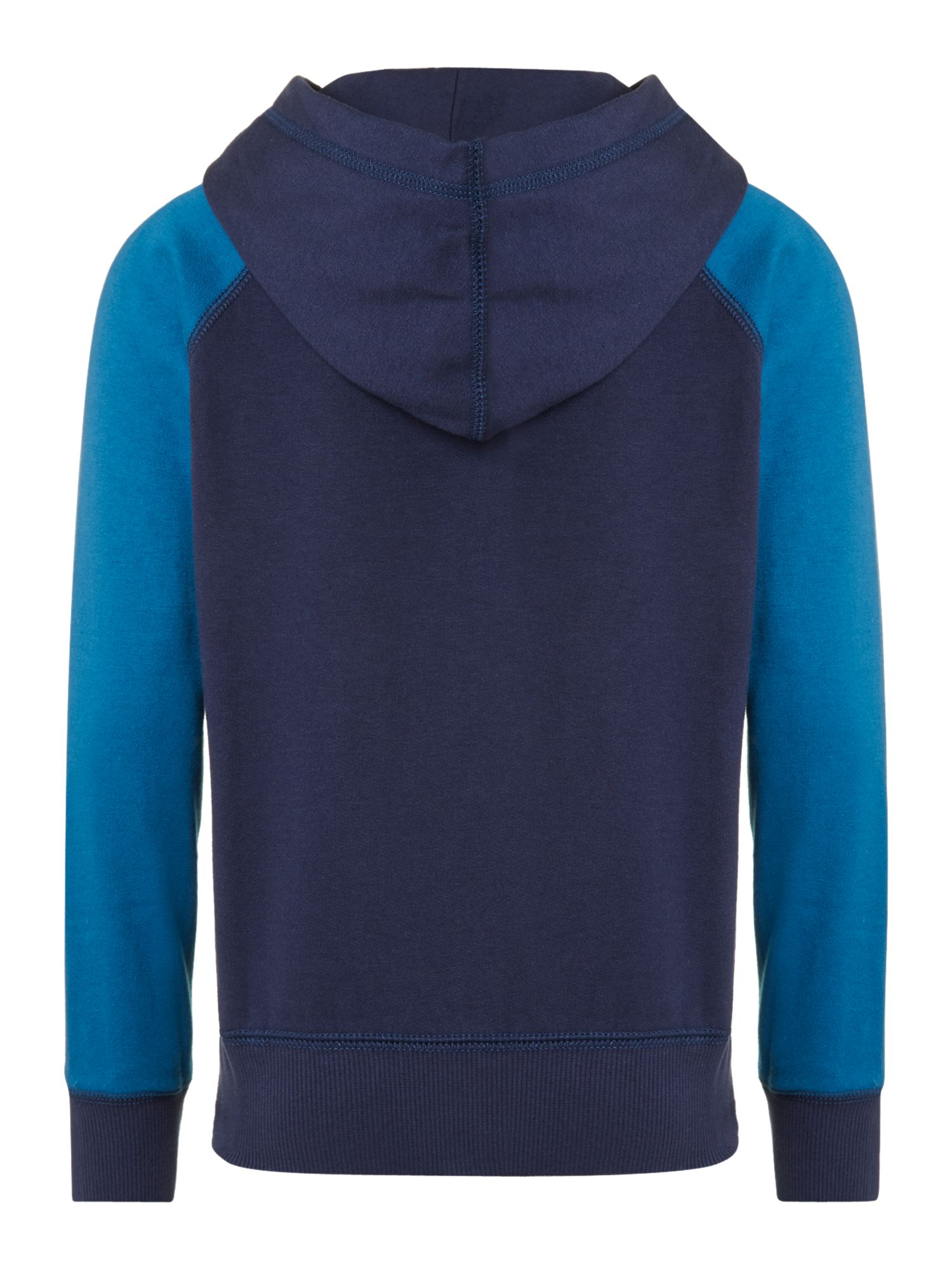 Boy`s zip through sweat hoody