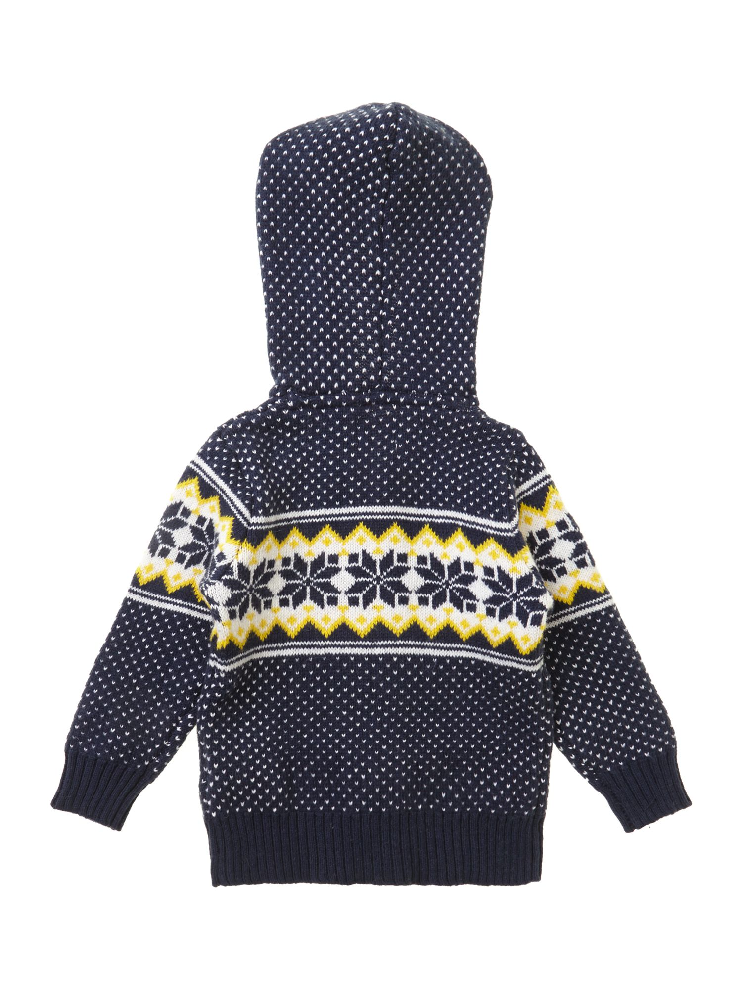 Boy`s Fair Isle knitted cardigan