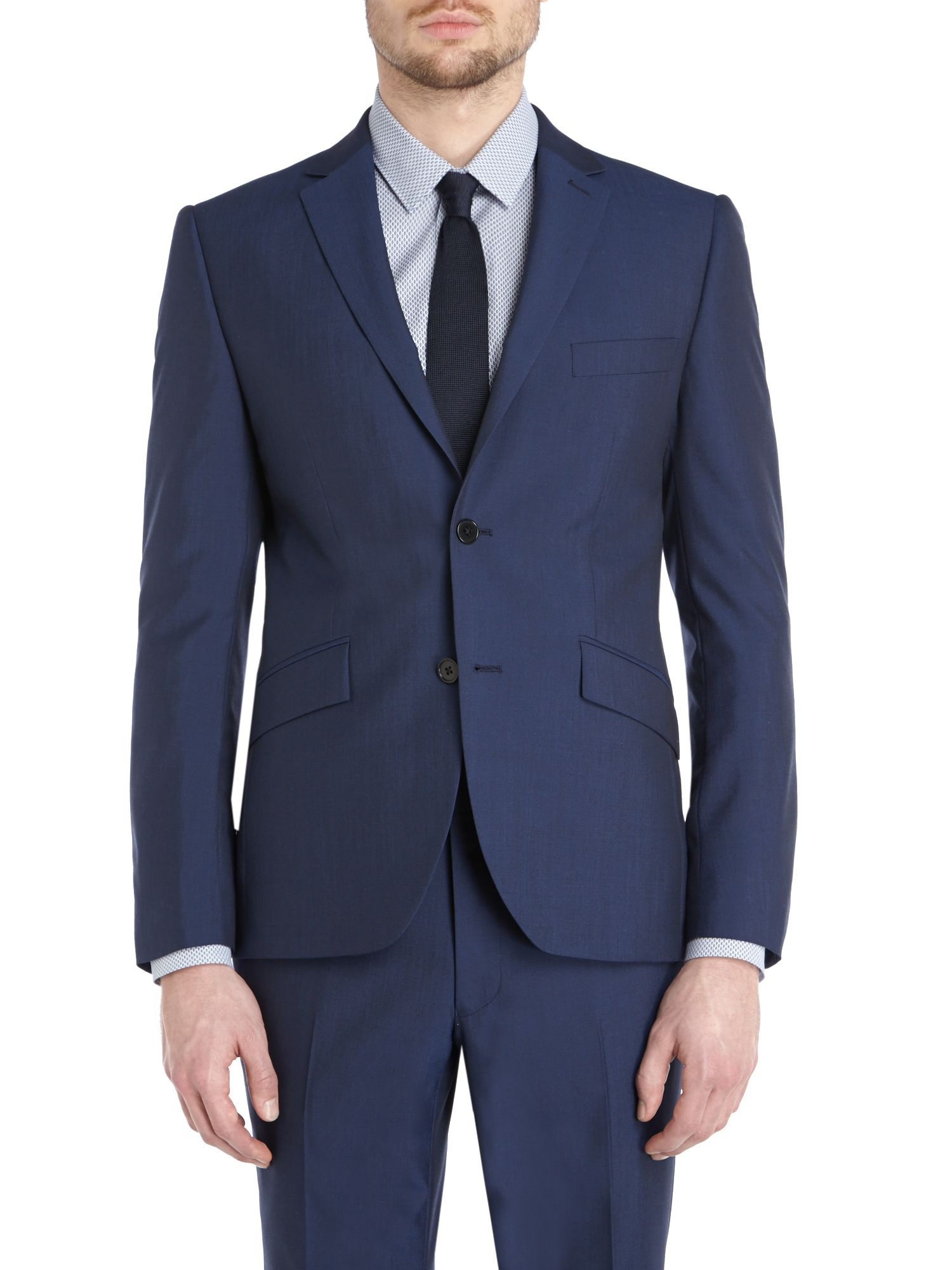 Starkin Slim Fit Notch Lapel Suit Jacket