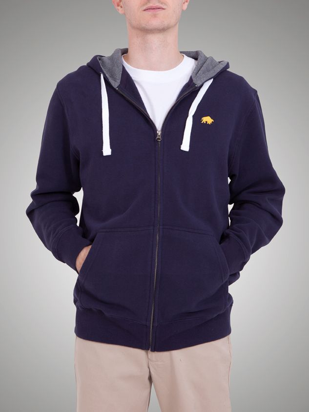 Big and tall signature hoody navy