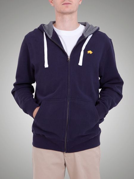 Raging Bull Big and tall signature hoody navy
