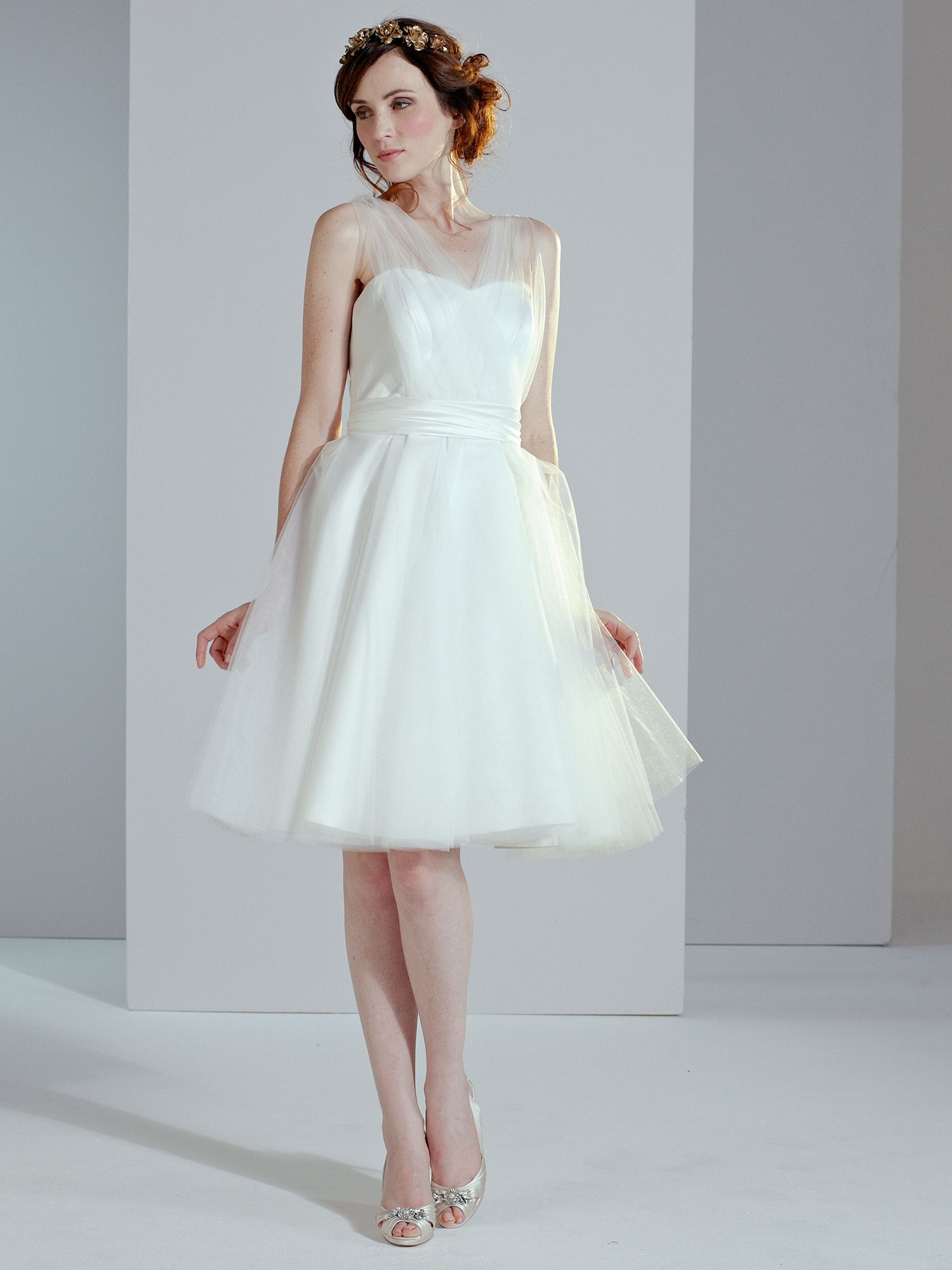 Sally tulle wedding dress