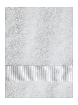 Cotton Modal Face Cloth in White (Set of