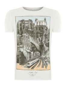 London town graphic tee