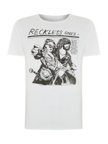 Reckless graphic tee