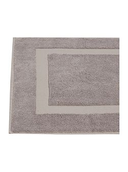 Cotton Modal 1000gsm bath mat in amethyst