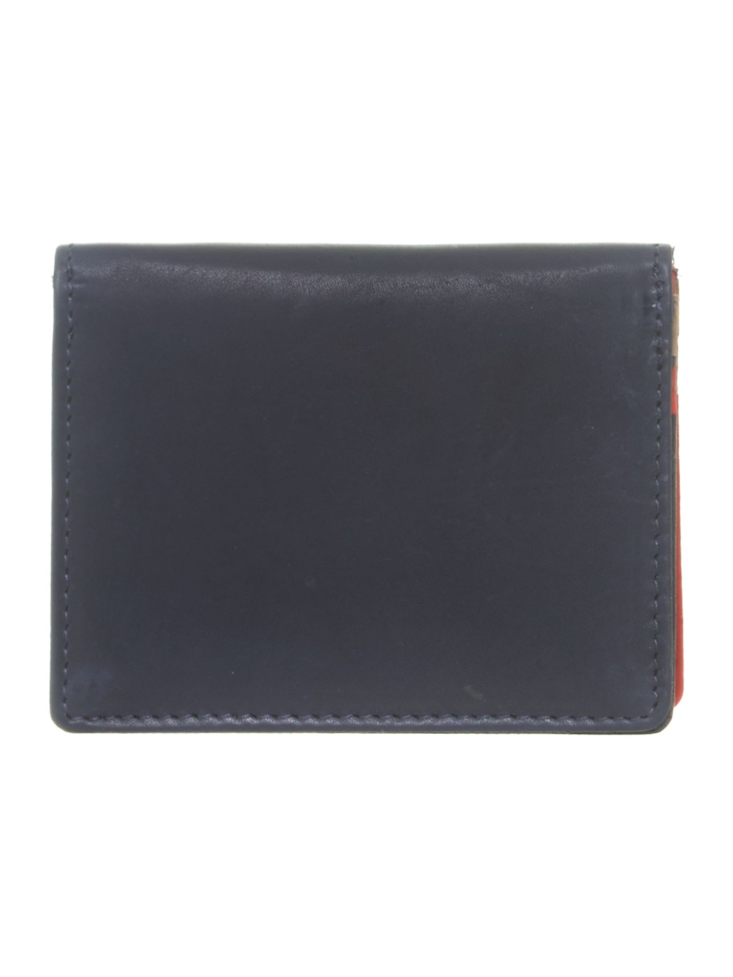 Blue with red internal card holder