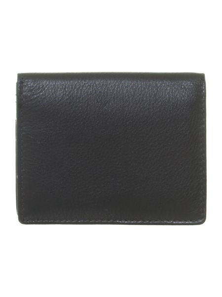 Black with spot internal card holder