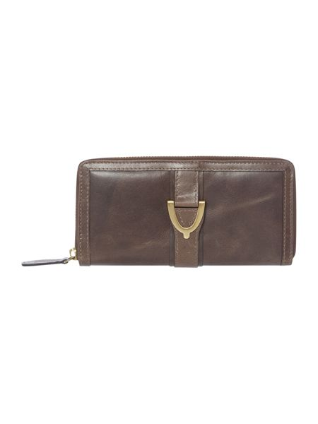 Linea Weekend Horseshoe zip around purse