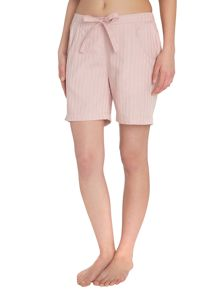 Self stripe pj shorts