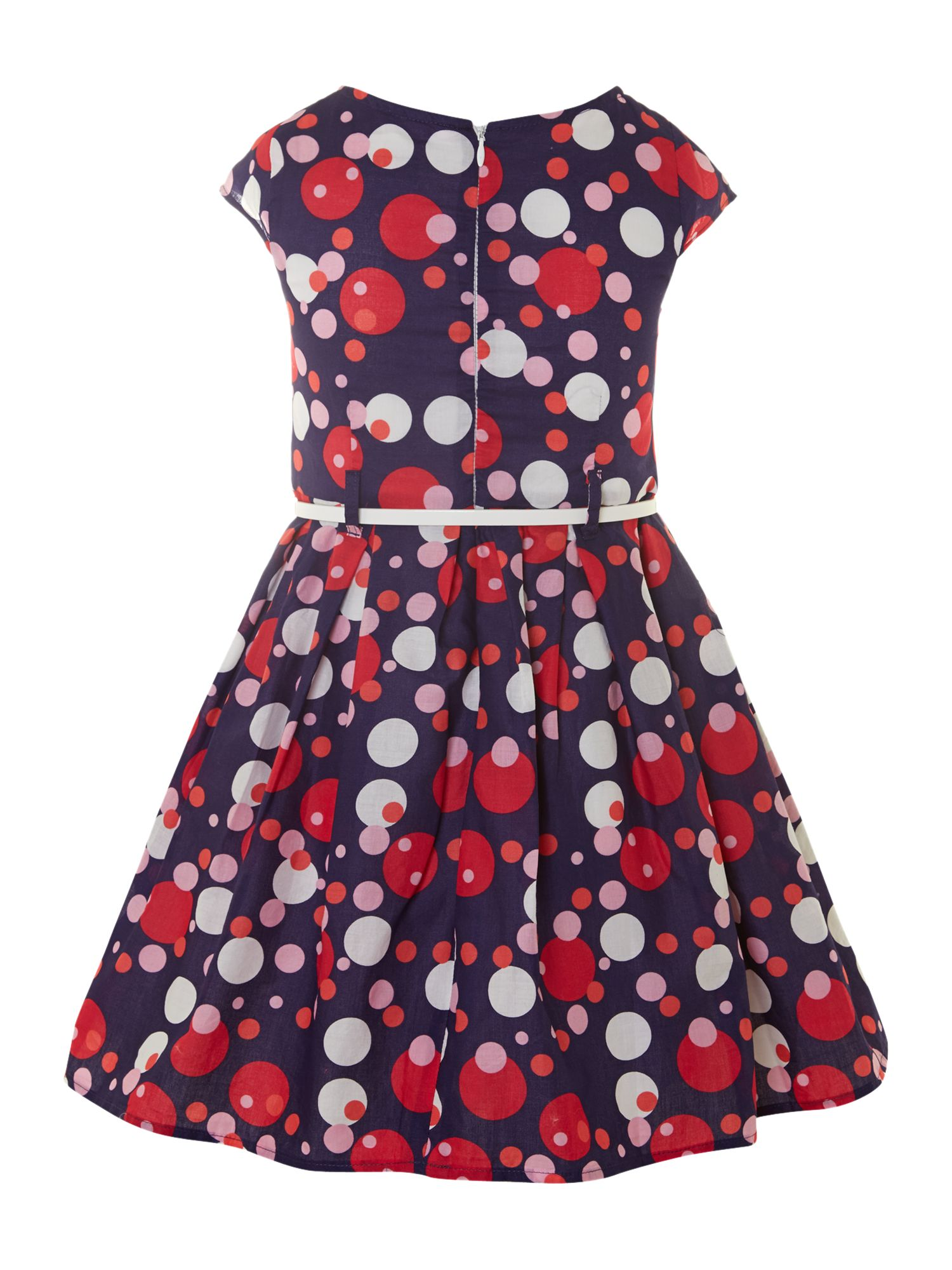 Girl`s polka dot dress