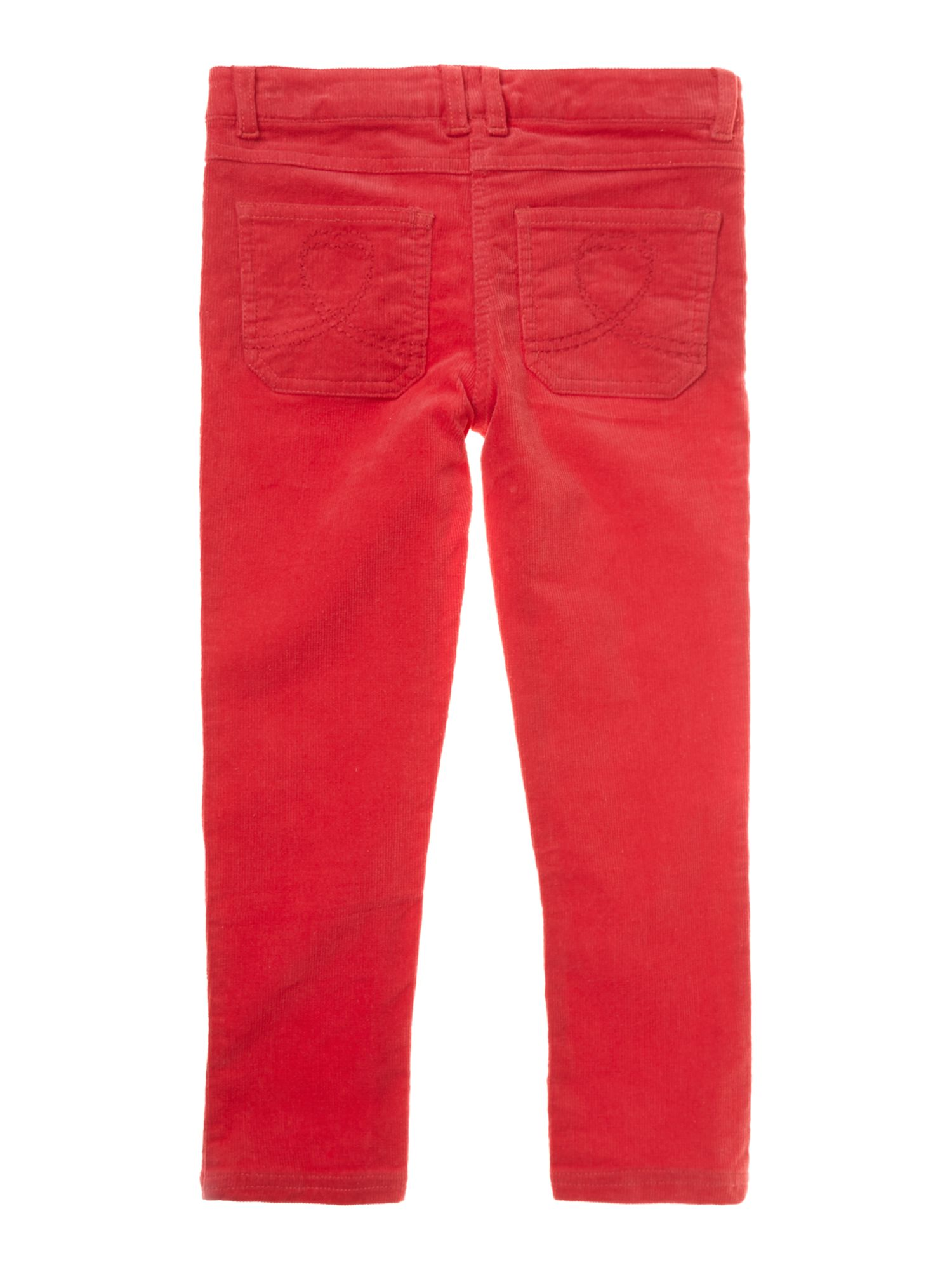 Girl`s bright cord trouser
