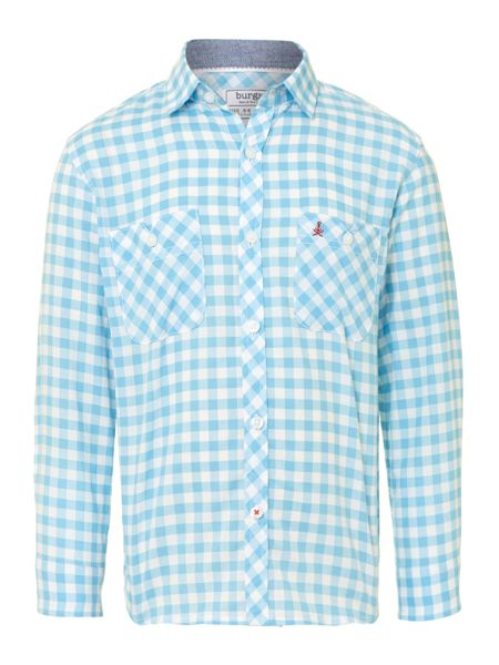 Burgs Boy`s gingham shirt