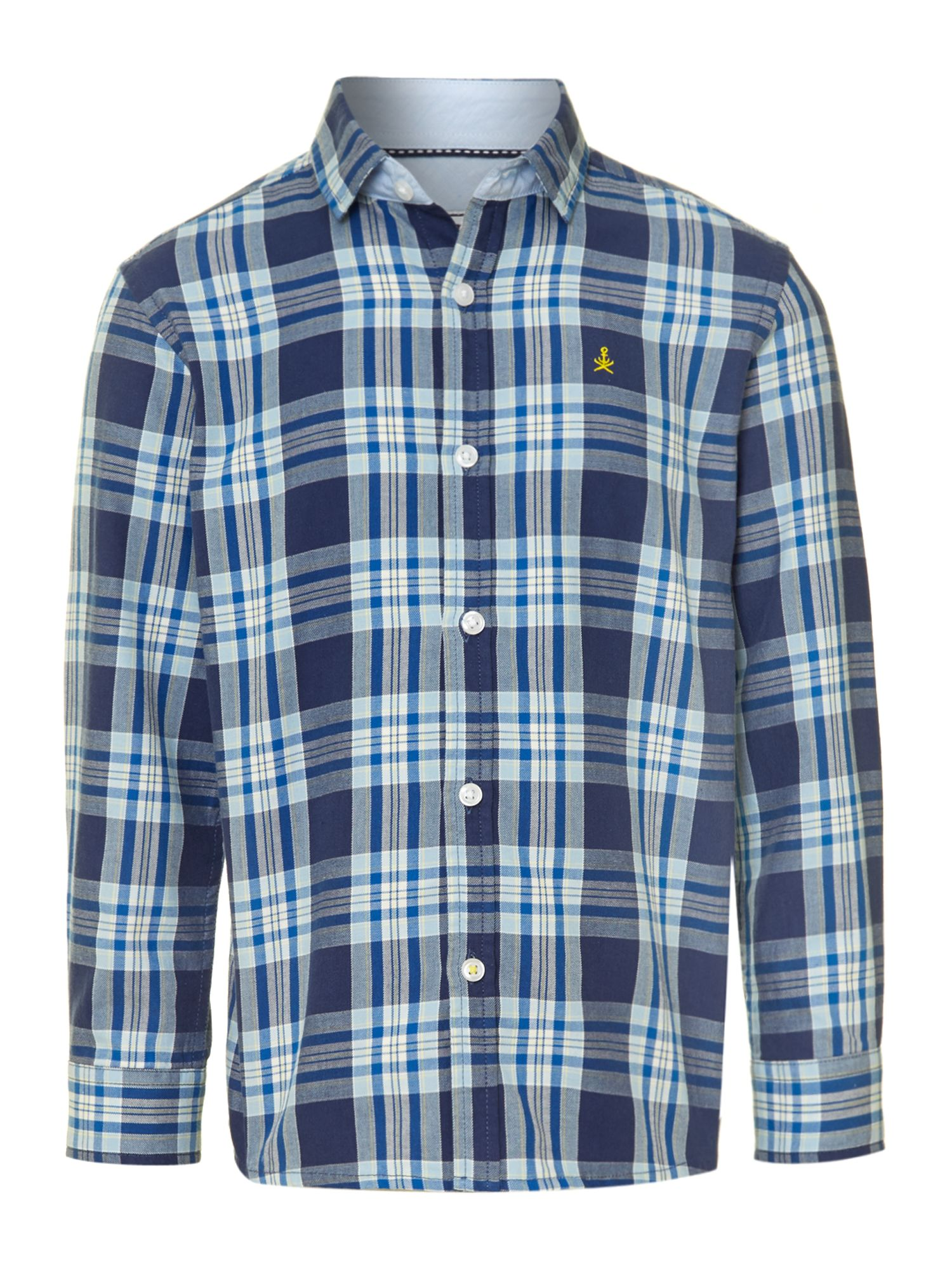 Boy`s check shirt