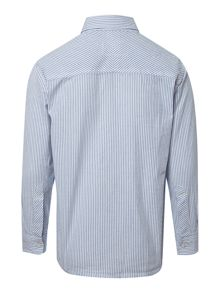 Boy`s ticking stripe shirt
