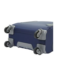 Panayio 55cm spinner 4 wheeled case blue