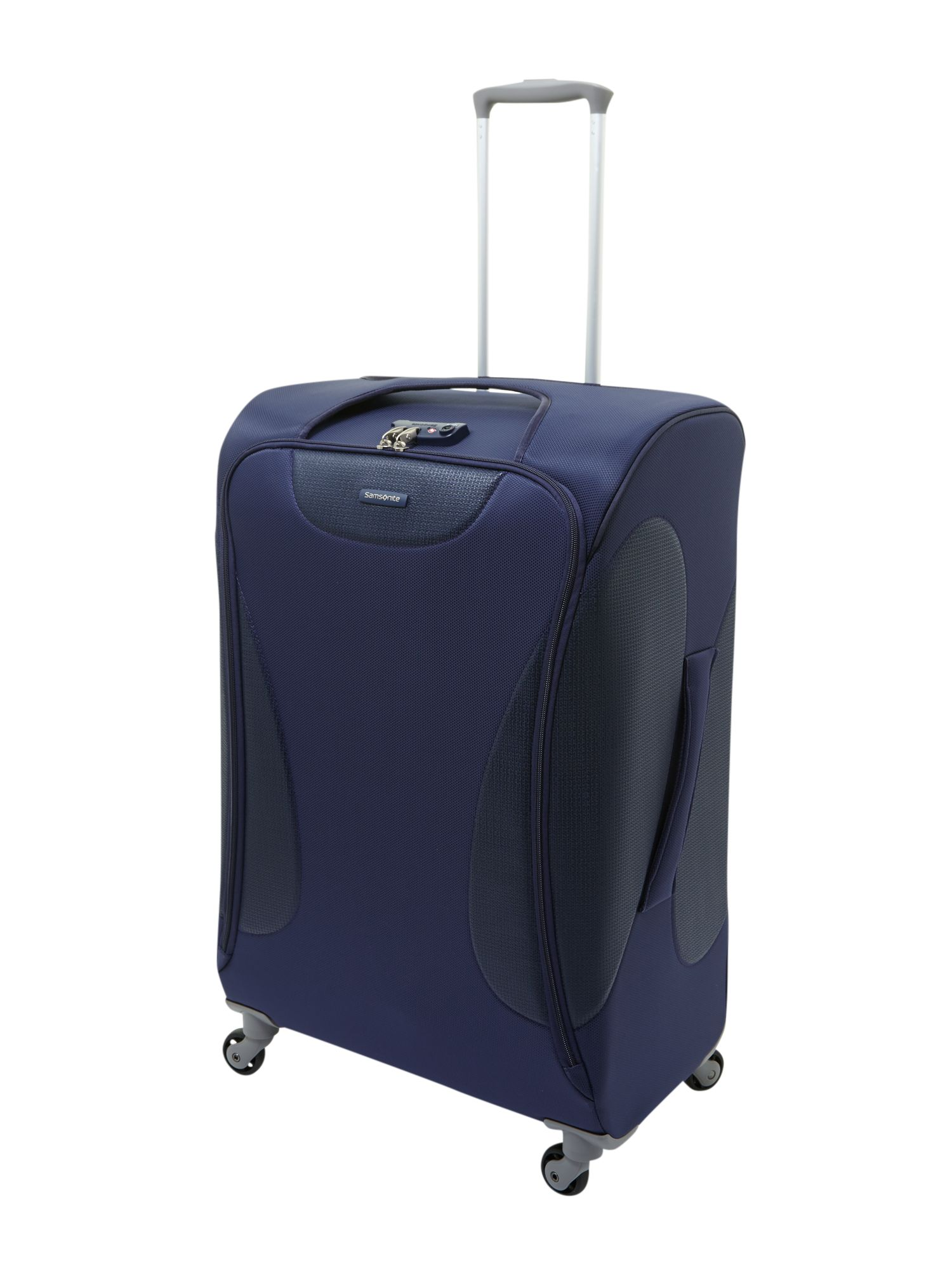 Panayio 75cm spinner 4 wheeled case blue