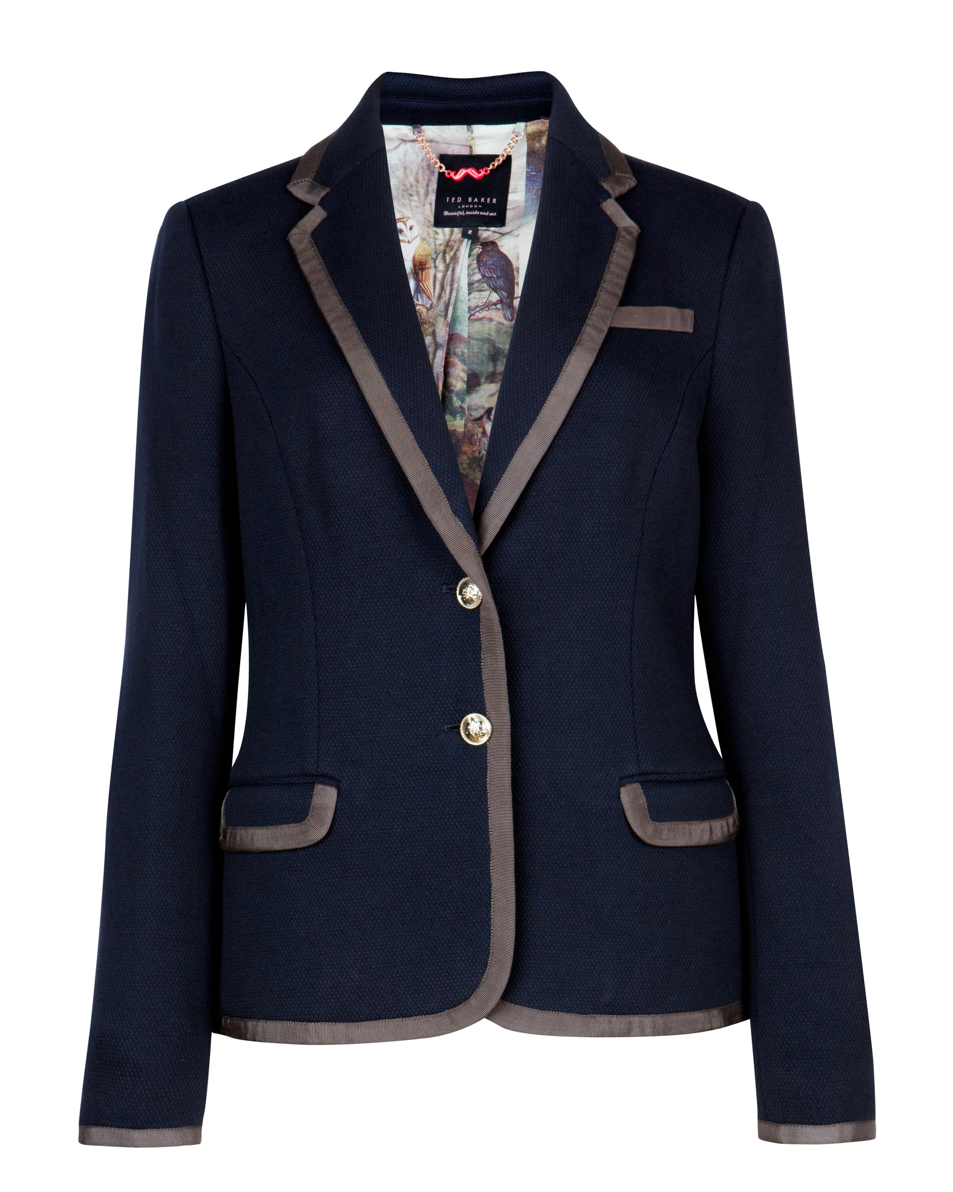 Mider contract trim blazer