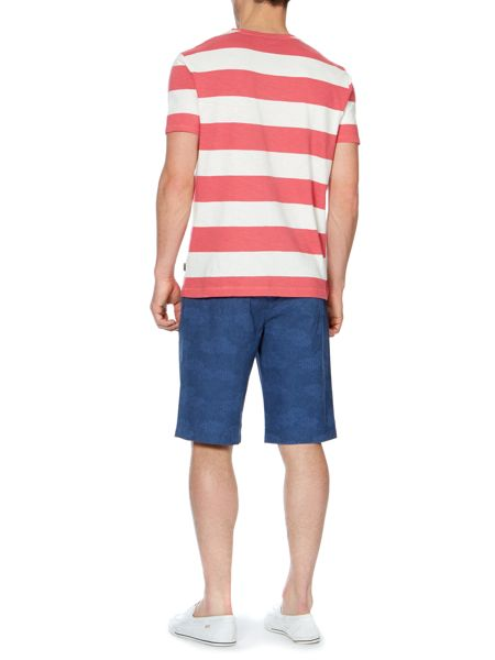 Howick arizona slub stripe t-shirt