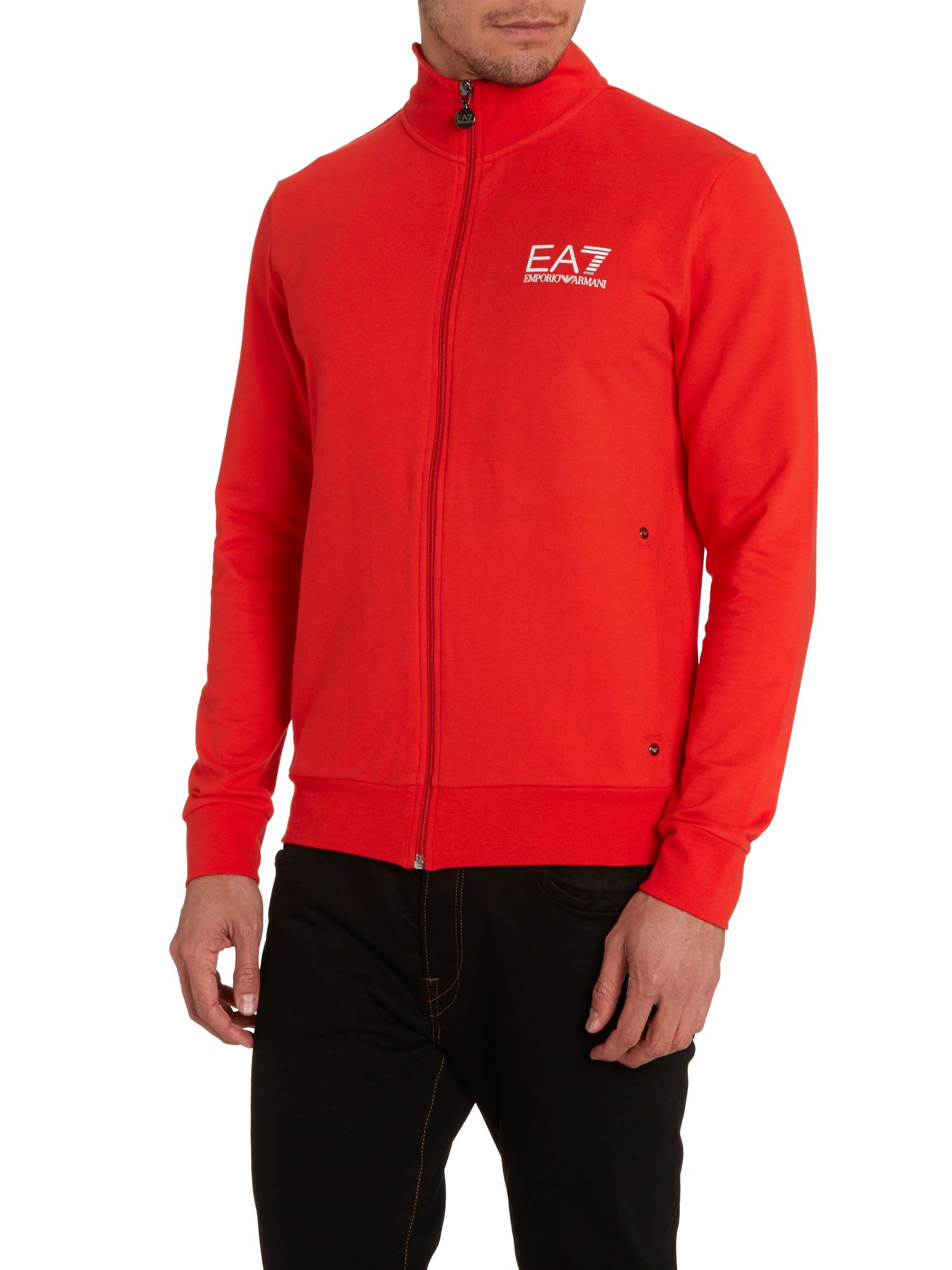 Zip through train core sweatshirt