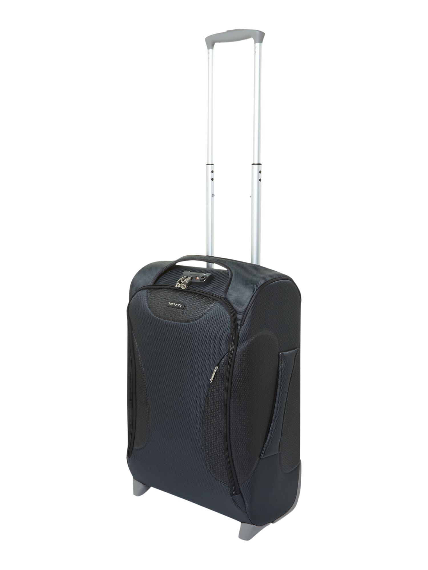 Panayio 55cm upright 2 wheeled case grey
