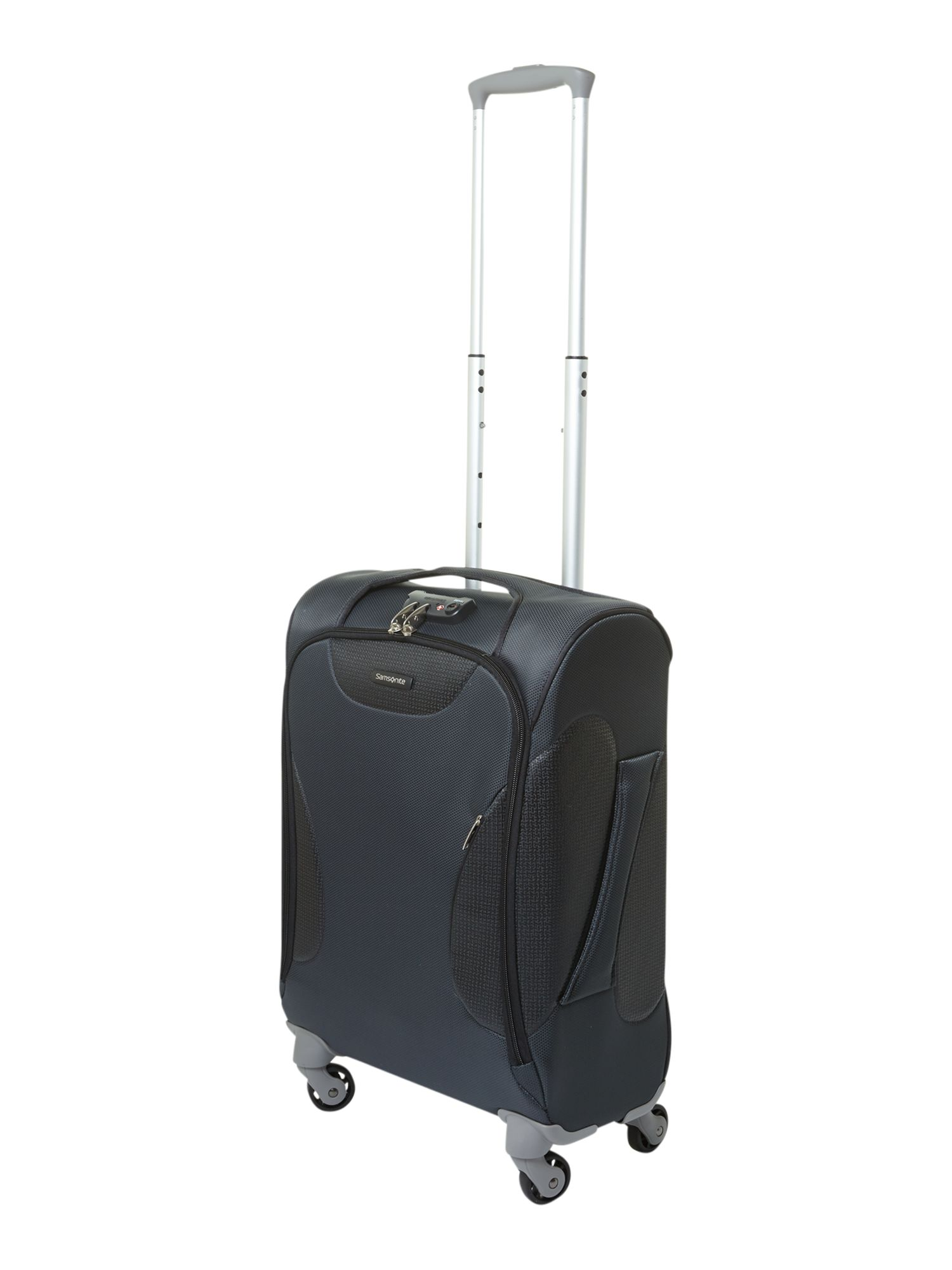 Panayio 55cm spinner 4 wheeled case grey