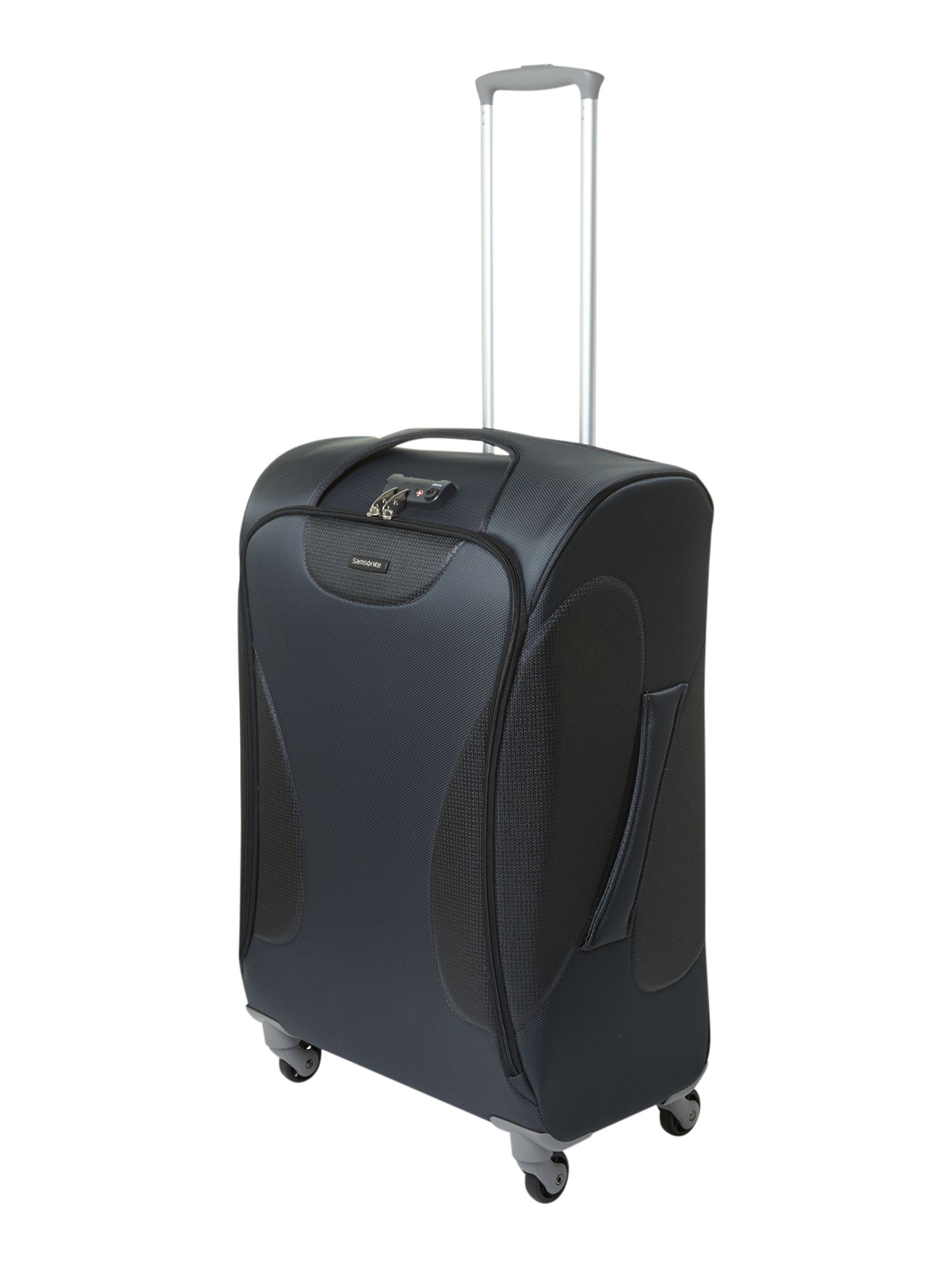 Panayio 68cm spinner 4 wheeled case grey