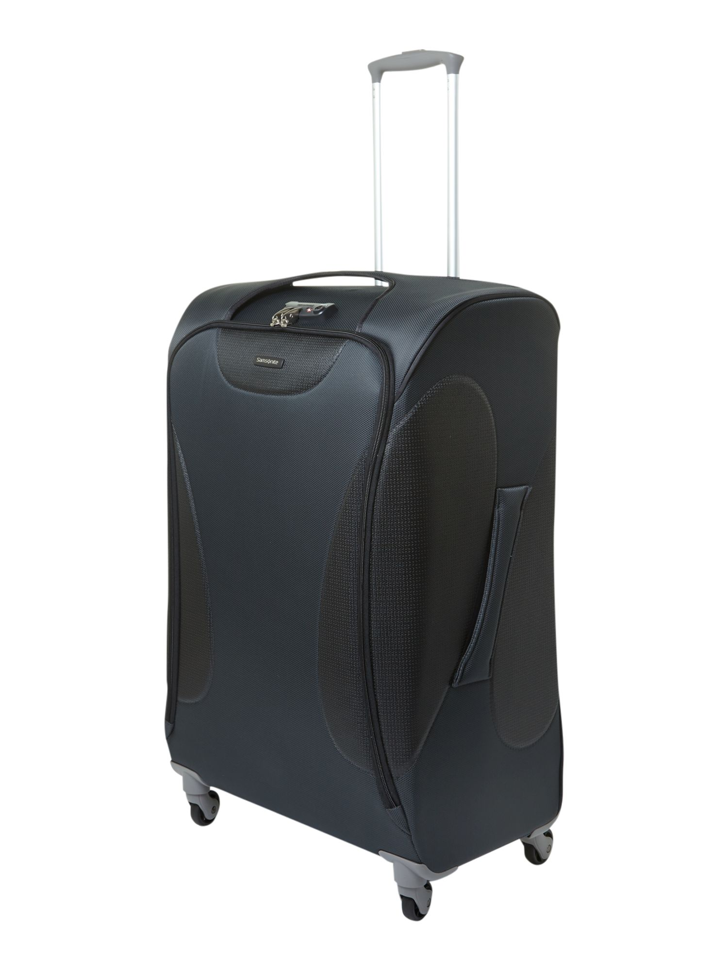 Panayio 75cm spinner 4 wheeled case grey